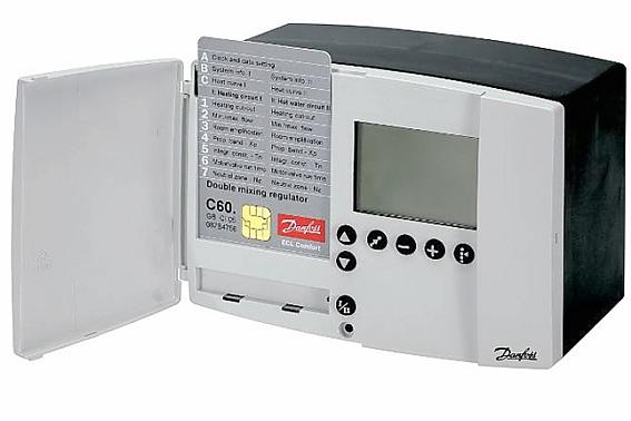 Щит управления для систем вентиляции с водяным калорифером щут1-5,5 (380)