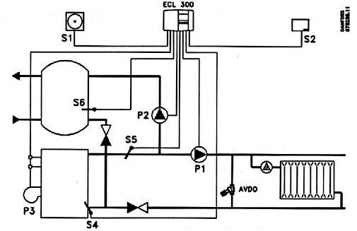 Принципиальная электрическая схема v.