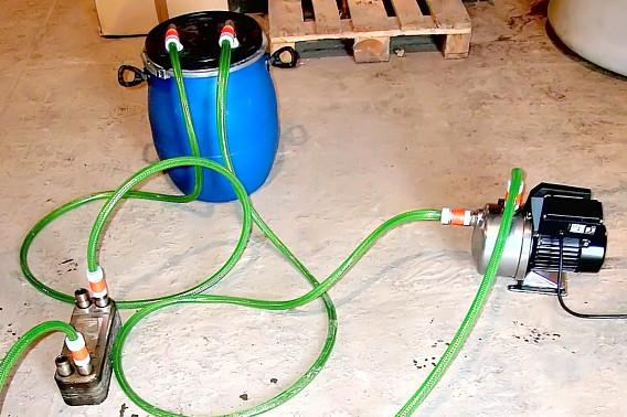 Теплообменник газовый своими руками